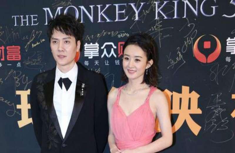 冯绍峰赵丽颖官宣离婚,两人结婚突然离婚也十分突然
